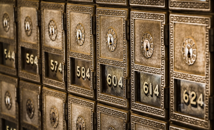 "What deposit boxes used to look like. Photo by <a href=""https://unsplash.com/@tjevans"">Tim Evans</a>"
